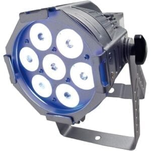 Elation Opti TRI 30 zilver 10, 7x3W 3-in-1 LEDs