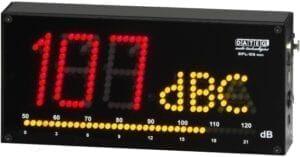 Dateq SPL D2 Display geluidsdruk meter